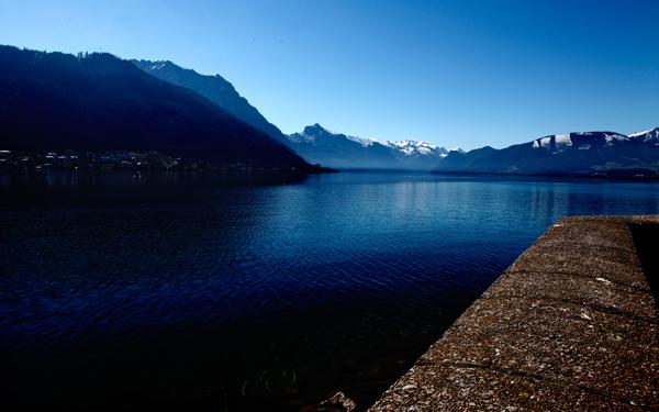 Гмюнден_Австрия_Альпы