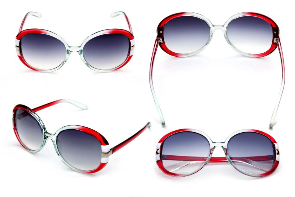 Sunglasses, красные очки от солнца, предметная фотосъёмка очков для интернет магазинов