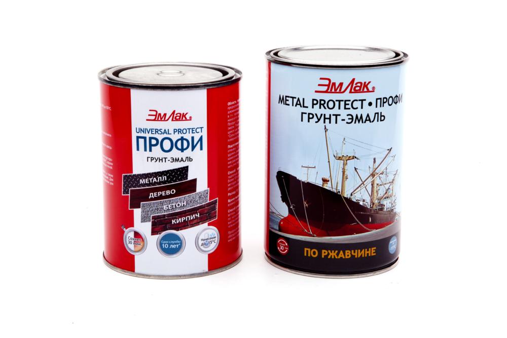 Фото металических банок с краской на белом фоне для продажи в интернет-магазине