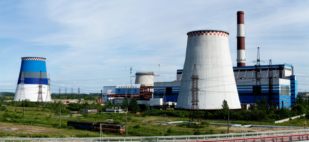 Южная ТЭЦ, урбанистический пейзаж