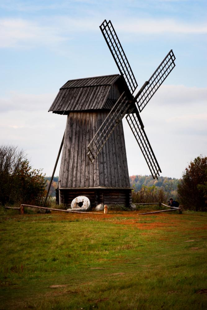 Старая ветряная мельница Пушгоры